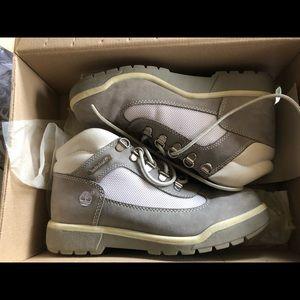 Timberland gray field boots!